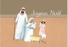 Carte de voeux creche Laure Th.Chanal