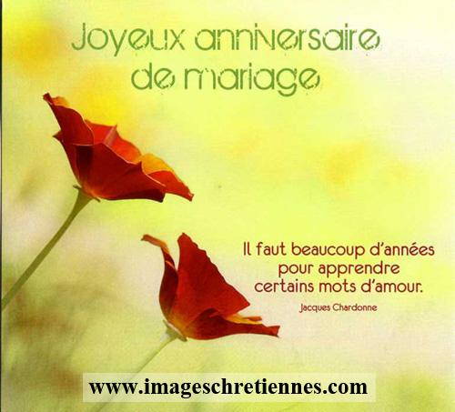 Ba 059 Joyeux Anniversaire De Mariage