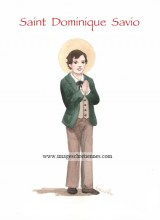 saint patron Dominique Savio