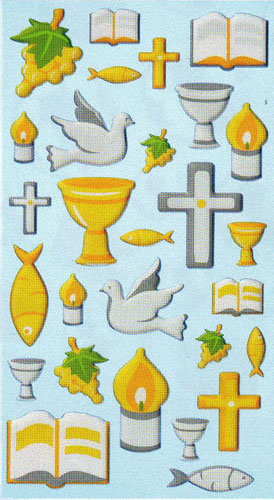 Jl 201 Stickers Communion n°6